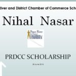 Peace High Scholarship Nihal Nasar